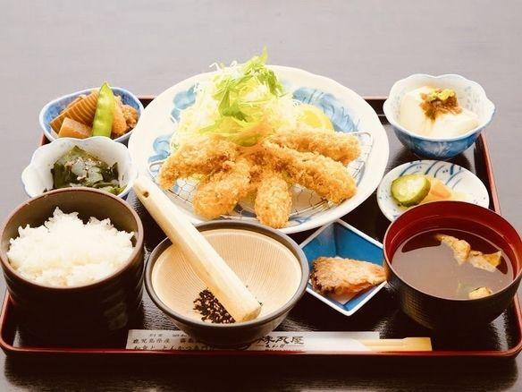 広島産カキフライ御膳