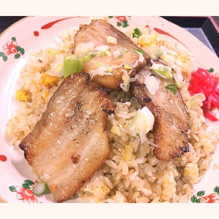 焼き豚チャーハン(800円)