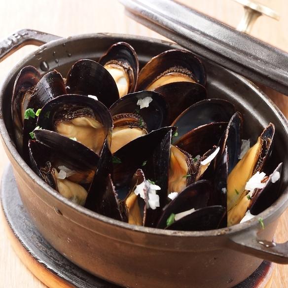 ムール貝のワイン蒸し