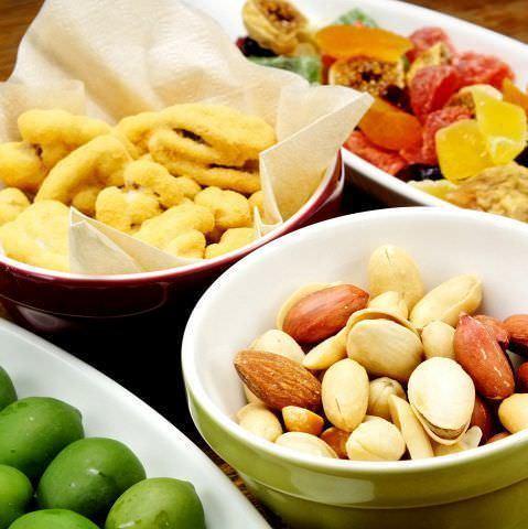 6種類のドライフルーツ盛り合わせ