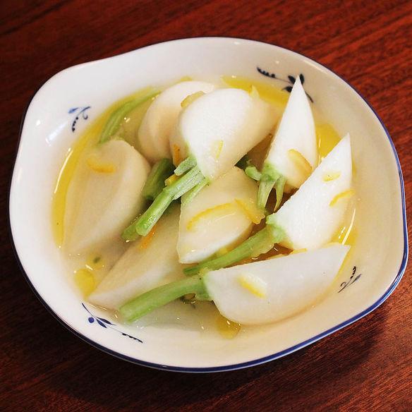 カブのさっぱり柚子マリネ
