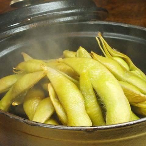 枝豆のスモーク