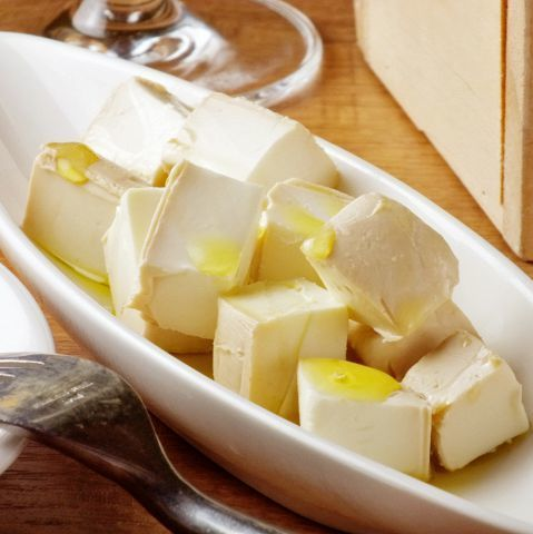 クリームチーズの醤油漬け