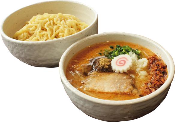 魚介味噌つけ麺 大盛り無料