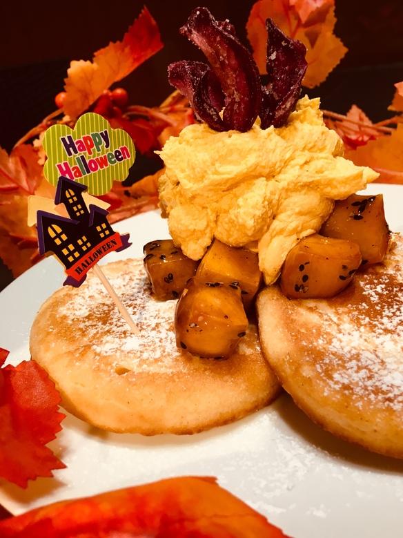 秋のよくばりパンケーキ