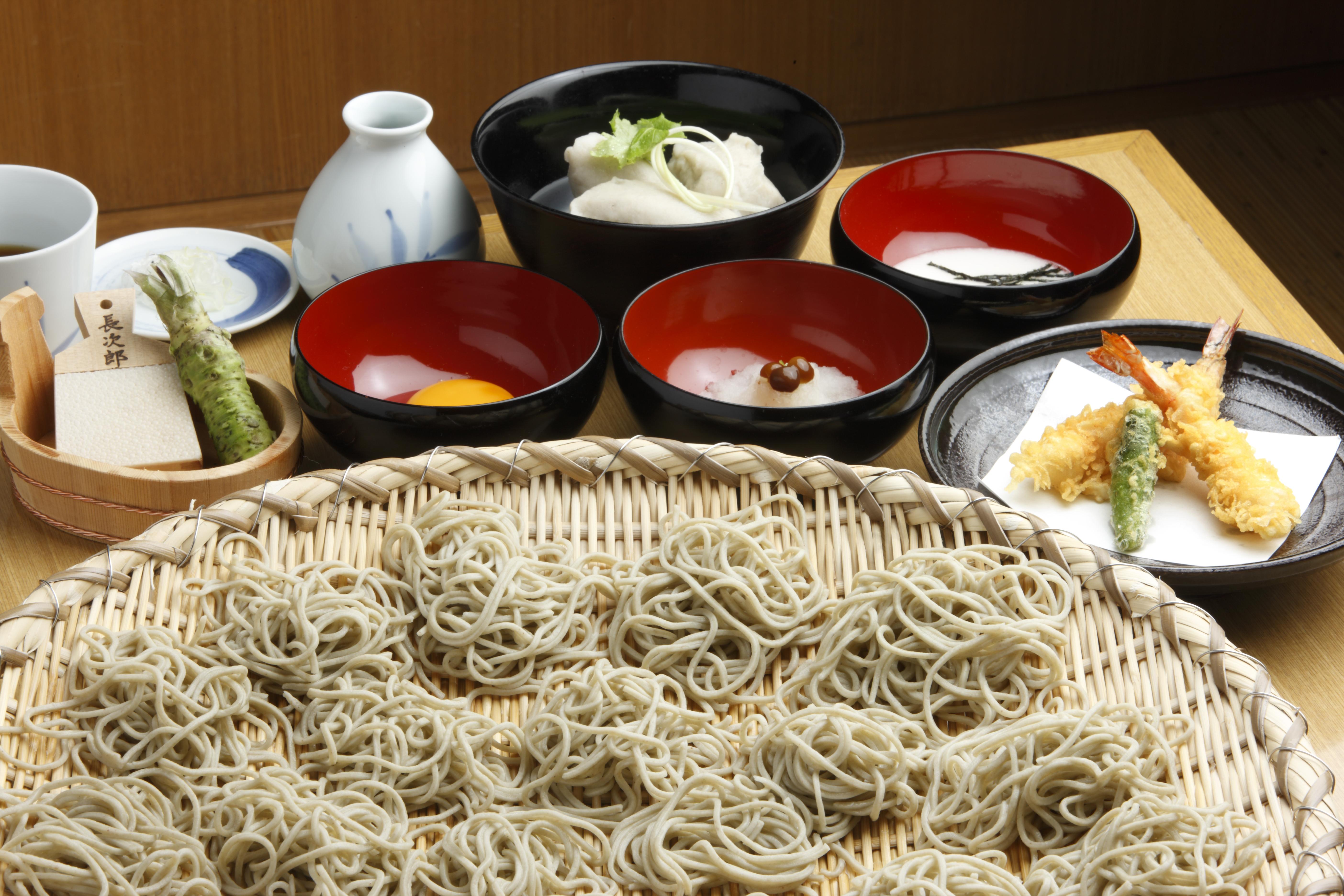 新そば食べ放題コース<11/10~30までの期間限定価格!>