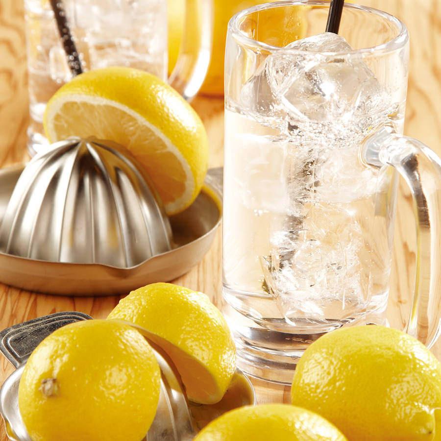 レモン瓶サワー(580円)