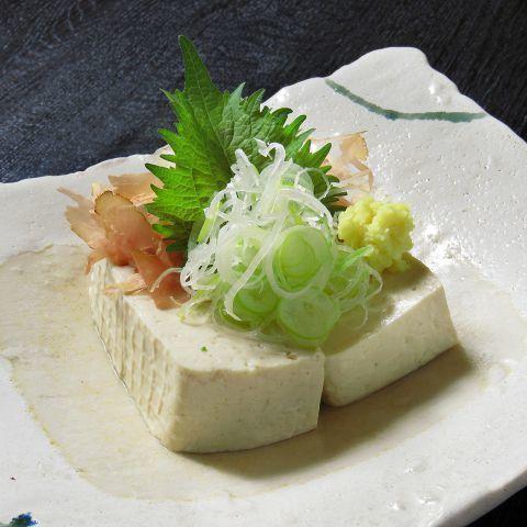 須賀川 二瓶豆腐のこだわり奴