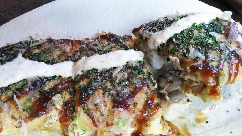 牡蠣貝と帆立のチーズ焼
