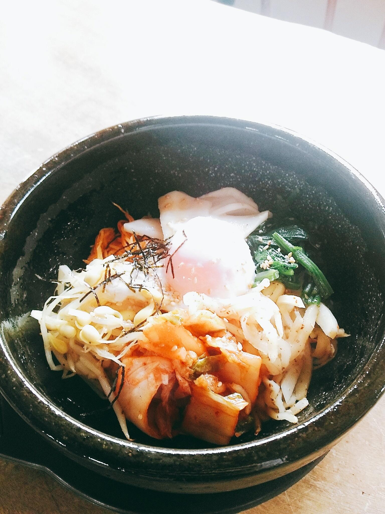 旬野菜の石焼きビビンバセット