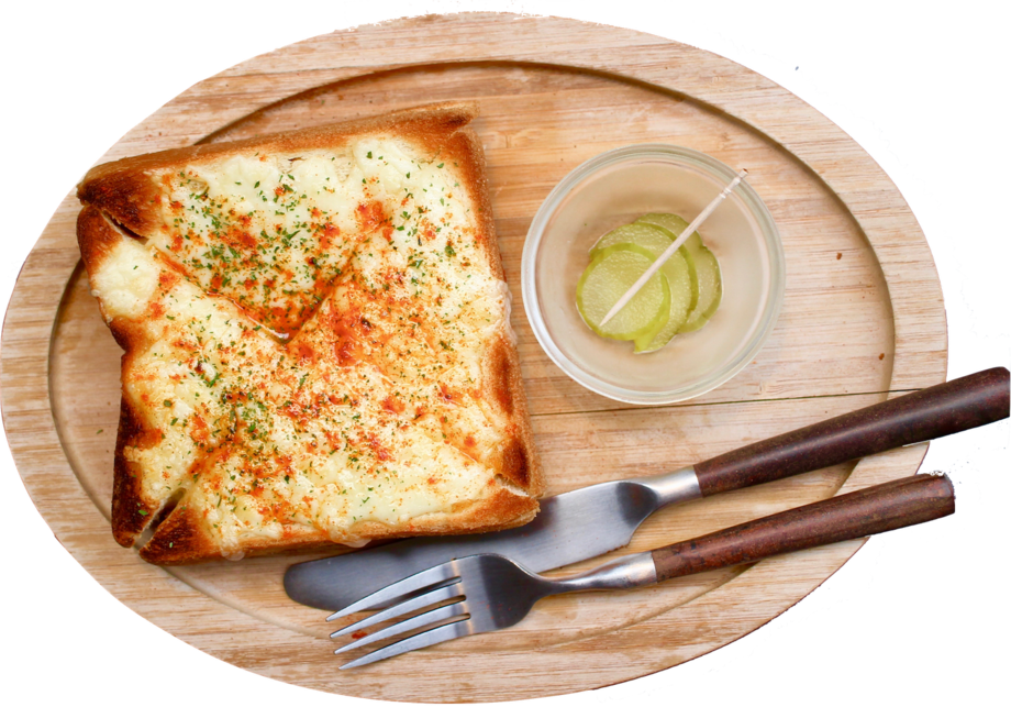 ピザトースト(平日ランチタイム:¥300 通常料金:¥480)