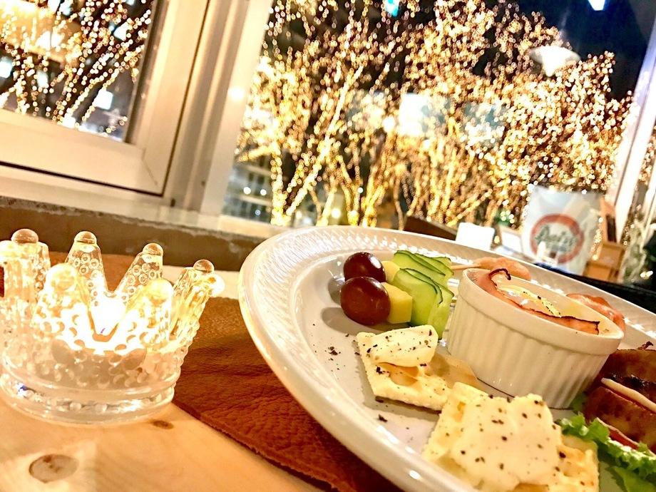 【12/21(金)〜25(火)限定】クリスマスディナーコース120分¥7,800(飲み放題付き)(¥7,800(税抜))