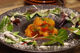 有機野菜のトマト煮込み