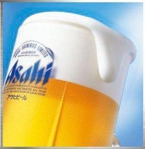 アサヒ生ビール(600円)