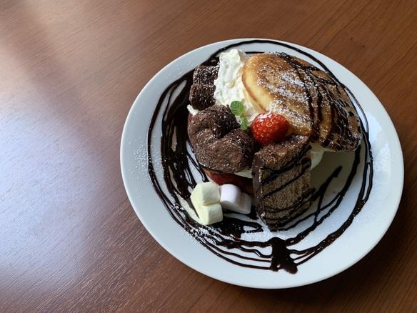ヴァレンタイン パンケーキ