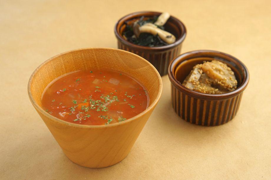 まごわやさしいセット(副菜2品&スープ)