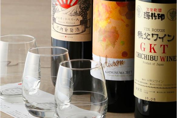 赤ワイン3種飲み比べ