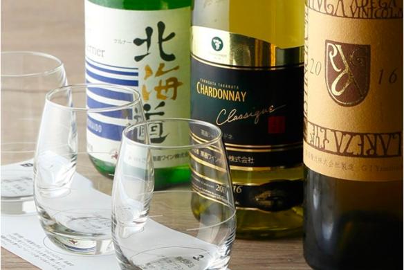 白ワイン3種飲み比べ