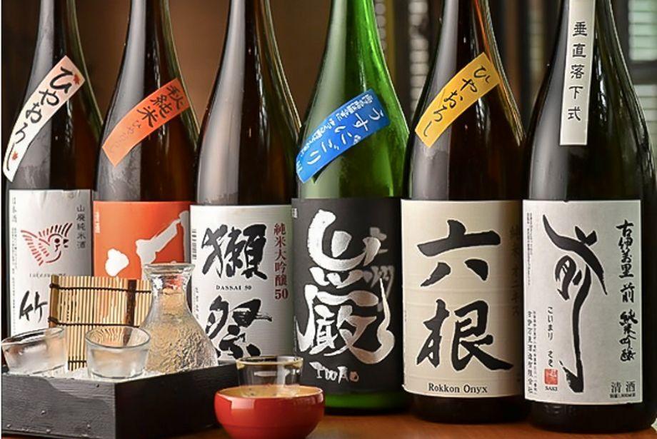地酒(1杯(90ml) 420円〜)