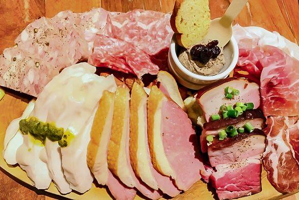 イタリアンなお肉の前菜盛り合わせ