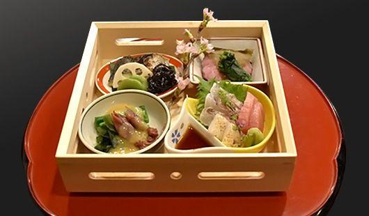 鯛飯コース お花見弁当