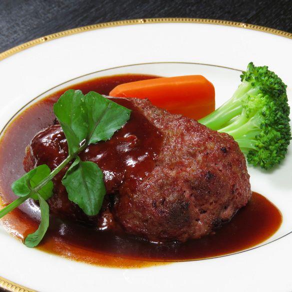 国産 牛すね肉のハンバーグ