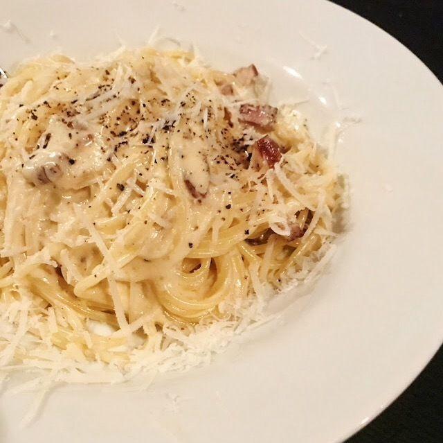 濃厚 スパゲティ カルボナーラ(1300)