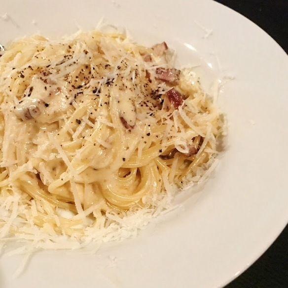 濃厚 スパゲティ カルボナーラ