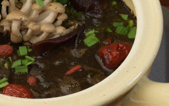 アンチェンジング黒ごまスープ