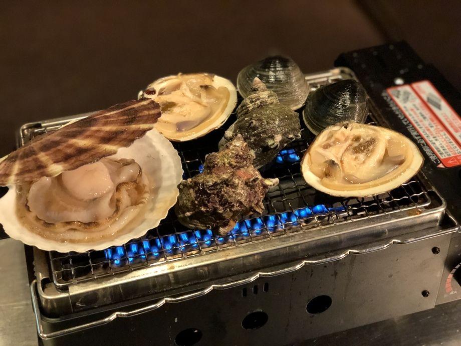 貝焼きセット!(2000円〜)