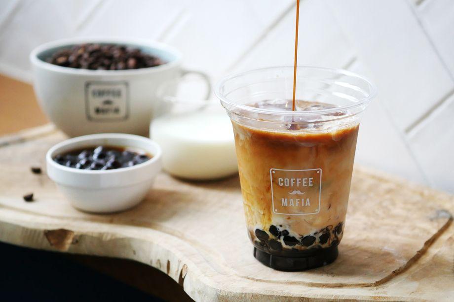タピオカミルクコーヒー(HOT/ICE)