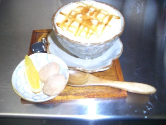 きな粉&黒蜜の豆乳ラテ
