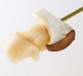 舞茸のつぶ貝巻き