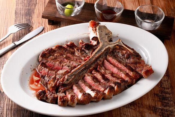 【当店イチオシ】US産 Tボーンステーキ サーロインとヒレが贅沢に味わえる!