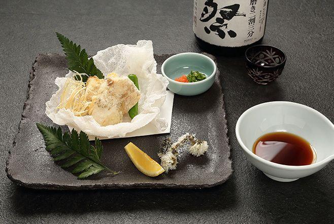 クエの季節唐揚げ(2,500円(税抜き))