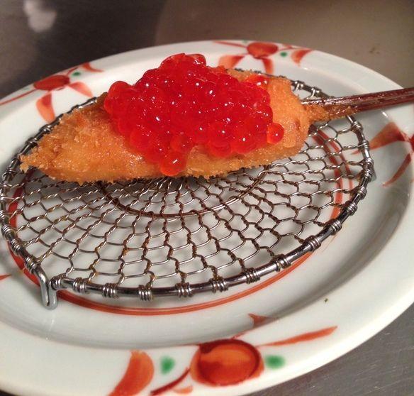 北海道の秋鮭とそのいくら