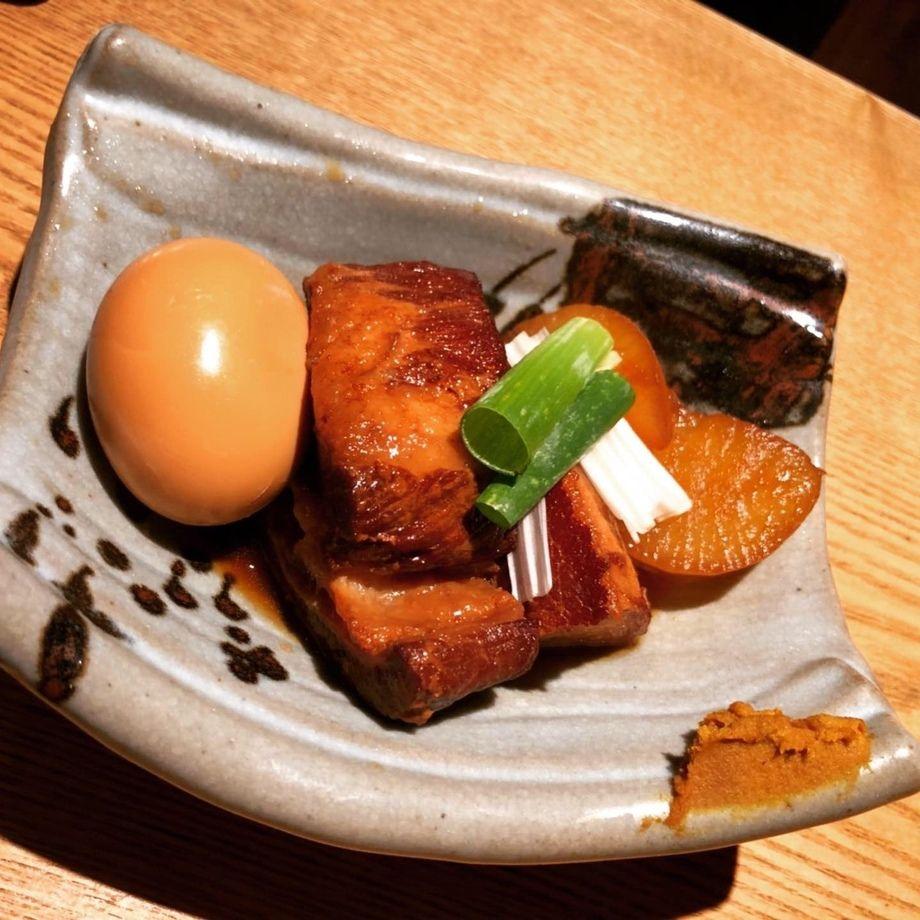 豚の角煮(750円(税抜き))