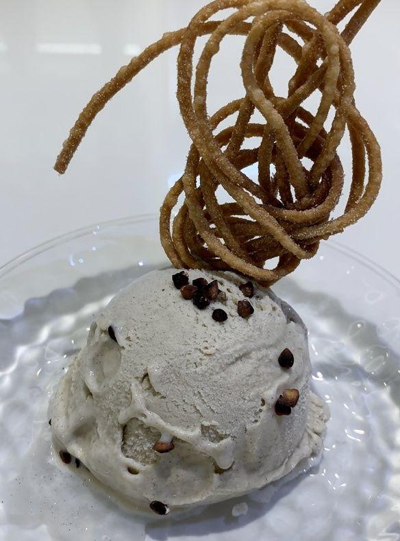 蕎麦ジェラートアイス