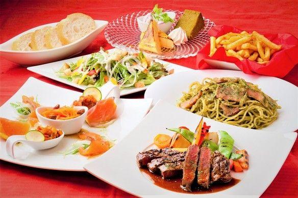 ★2名様~記念日におススメ!牛フィレ肉ステーキ赤ワインソースとチーズラクレットのシェアコース