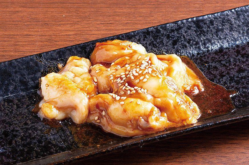 牛トロ味噌ホルモン(650円)