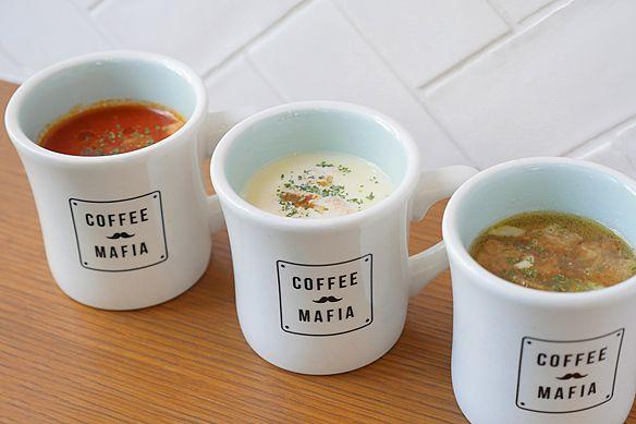 期間限定の「今日のスープ」も無料!