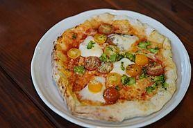ミニトマト盛り盛りピザ