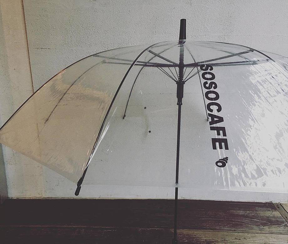 SOSOCAFE ビニール傘(980円(税別))