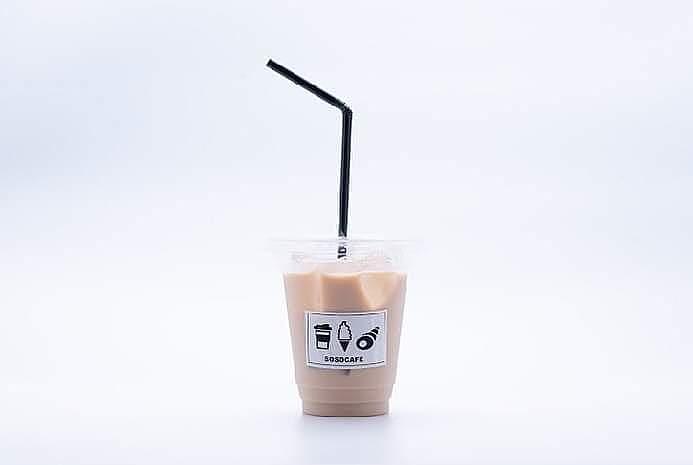 ほうじ茶ラテ(ice/hot)(380円(税別))