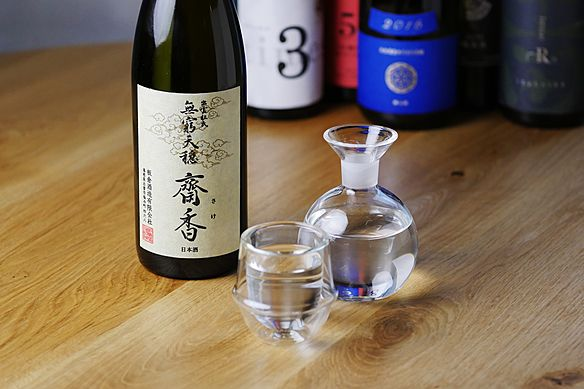 日本酒3種飲み比べ
