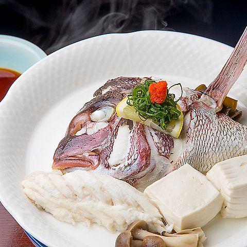 鯛の骨蒸し(こつむし)