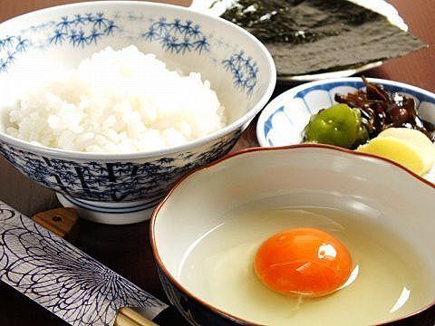 こだわり卵のたまごかけご飯