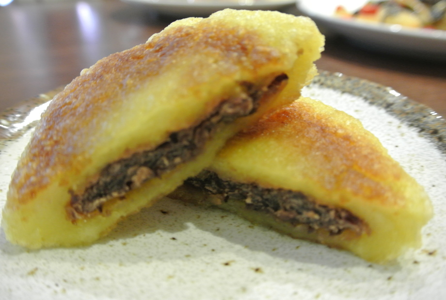 【デザート】とうもろこし餅