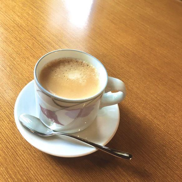 ランチワッフルセットのコーヒー