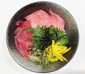 二色丼(大トロとマグロ)